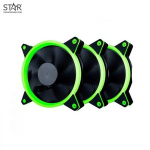 Fan Case 1st Player Fire Moon 12 RGB + Remote Control