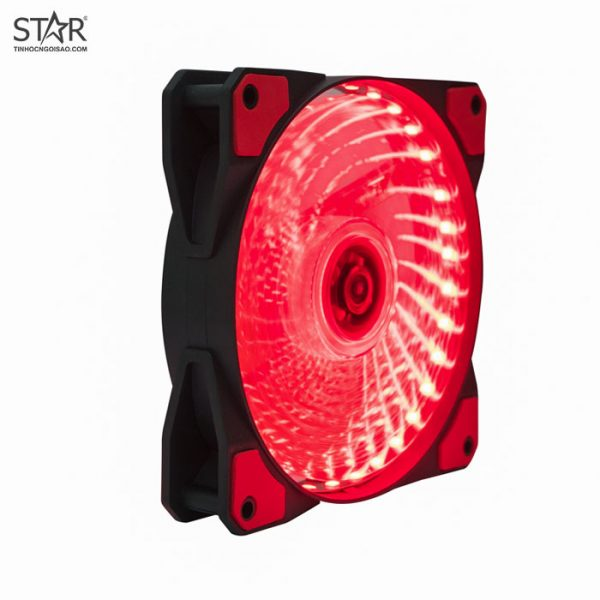 Fan Case XYCP 12cm Led Đỏ