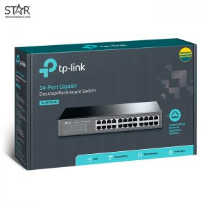 Switch 24 Port 1G TP-Link TL-SG1024D