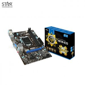 Mainboard MSI H81-E33