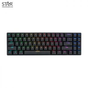 Bàn Phím Cơ Royal Kludge RK71 Pro RGB Red Switch Wireless (Đen)