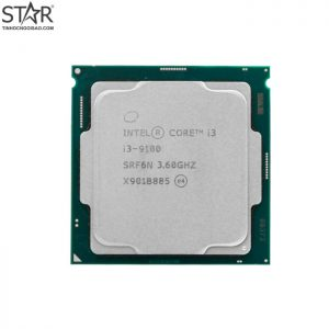 CPU intel core i3 9100 tray