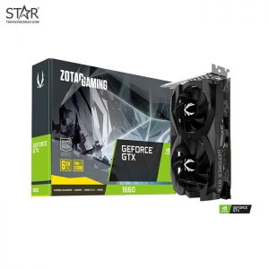 VGA Zotac GTX 1660 Gaming twin 6G