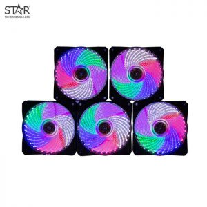 Fan Case Chanical 12cm Led Rainbow