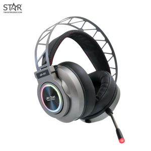 Tai Nghe Jin Dun V11 7.1 Surround Gaming Led RGB (Xám)