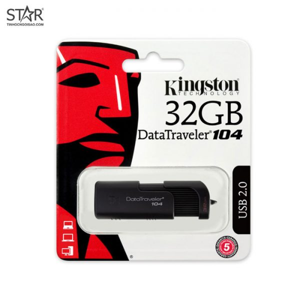 USB 32G Kingston DT104/32GB Tốc độ 2.0