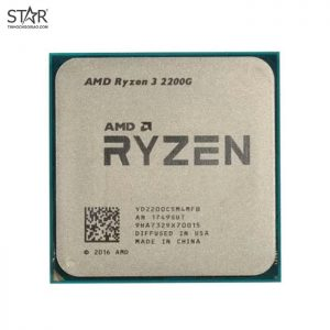 CPU AMD Ryzen 3 2200G tray