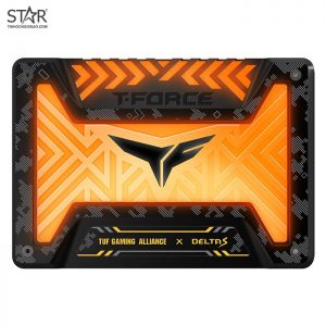 SSD 250G Team T-Force Delta S TUF Gaming Alliance RGB Sata III 6Gb/s (T253ST250G3C312)
