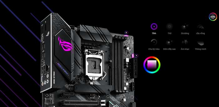 Mainboard Asus ROG Strix B460-F Gaming