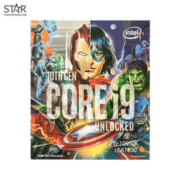 CPU Intel Core i9 10850K Avengers Edition