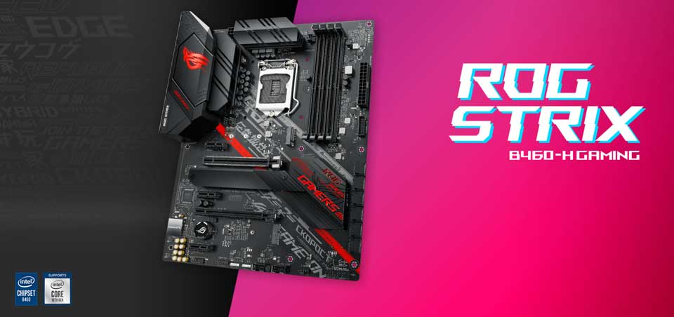 Mainboard Asus B460-H ROG Strix Gaming (ROG STRIX B460-H GAMING)