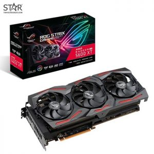 VGA Radeon RX5600XT 6G GDDR6 Asus ROG Strix Gaming TOP Edition (ROG-STRIX-RX5600XT-T6G-GAMING)