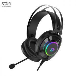 Tai Nghe Dare-U EH469 7.1 Surround Gaming RGB (Đen)