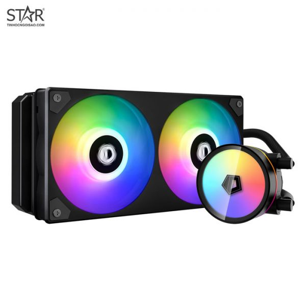Tản Nhiệt CPU ID-Cooling ICEFLOW 240 AiO ARGB Cooling