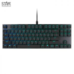 Cooler Master SK630 MX Cherry Low Profile Red Switch RGB TKL (Đen)