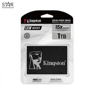 Ổ cứng SSD 1TB Kingston KC600 Sata III 6Gb/s TLC (SKC600/1024G)