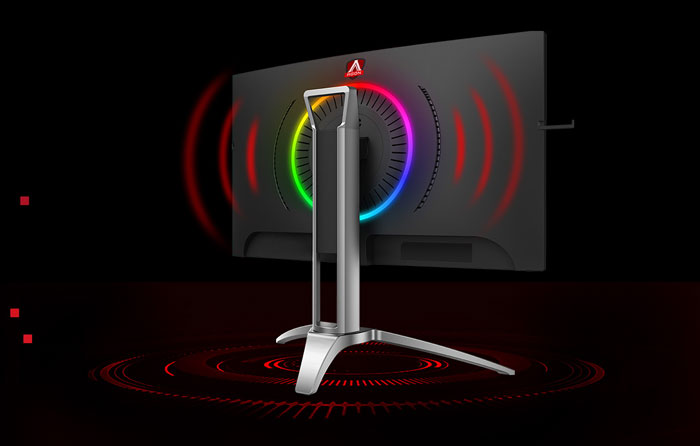 AOC Agon AG273QCX/74 QHD 2K 144Hz 1ms Freesync Gaming Cong