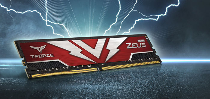 Ram DDR4 Team 16G/3200 T-Force Zeus Gaming (1x 16GB) (TTZD416G3200HC2001)