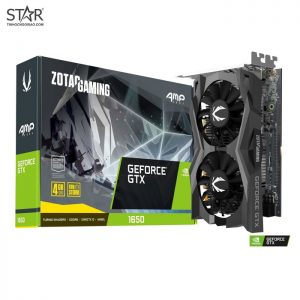 VGA Zotac GTX 1650 4G GDDR6 AMP Core Gaming GeForce