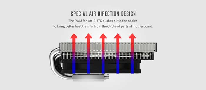 Tản Nhiệt CPU ID-Cooling IS-47K Low-Profile Cooling