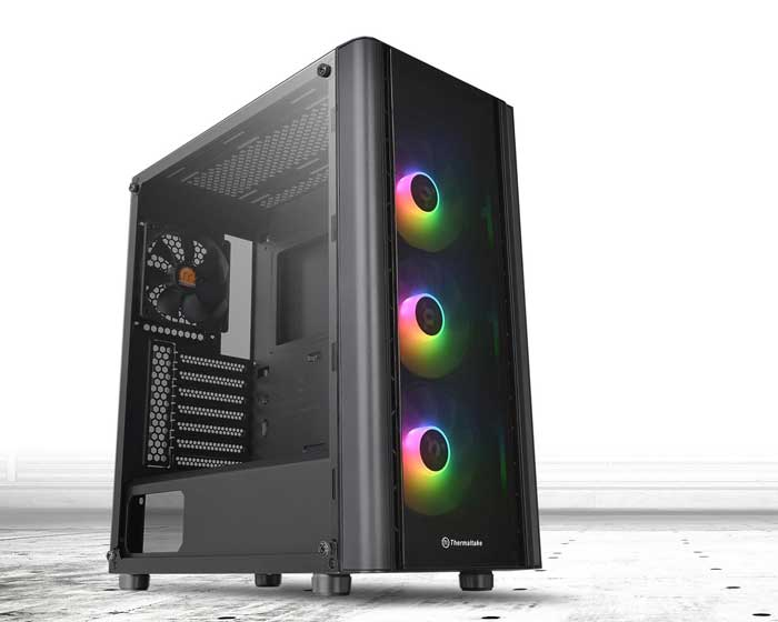 Case Thermaltake View V250 TG ARGB Mid Tower Chassis (Đen) (CA-1Q5-00M1WN-00)